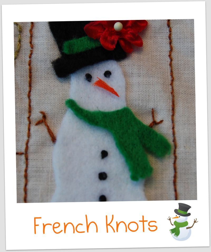 French knots